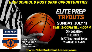 Copy of Basketball Tryouts Twitter Post