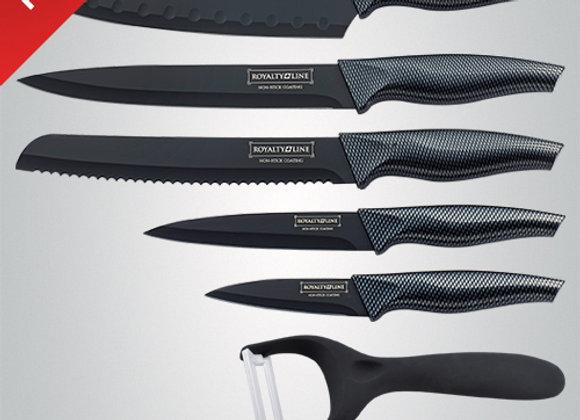 RL-CB5 5 Pcs Non-Stick Coating Knife Set