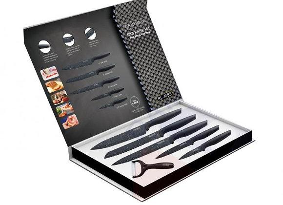 RL-MB5 5 Pcs Marble Coating Knife Set