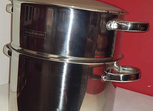 Couscous pot Stainless Steel with lid