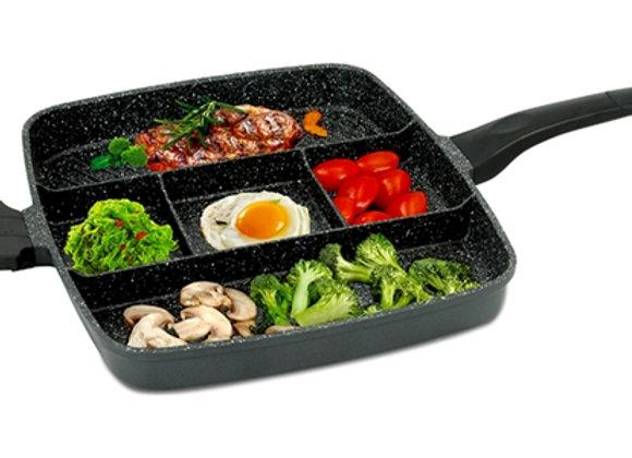 4-in-1 Grill & Fry Pan 38 cm
