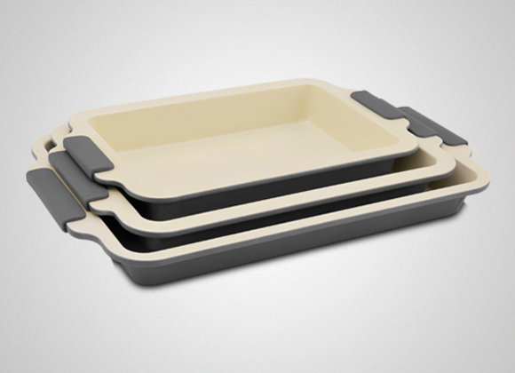 3 Pcs Ceramic Coating Roasting
