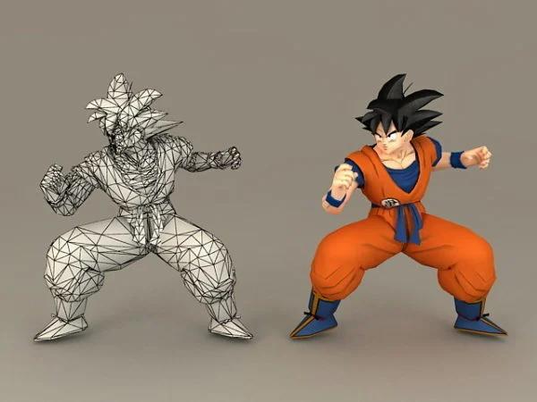 Dragon-Ball-Son-Goku-3D-Model