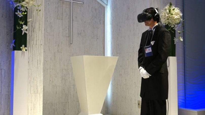 Se casa en realidad virtual