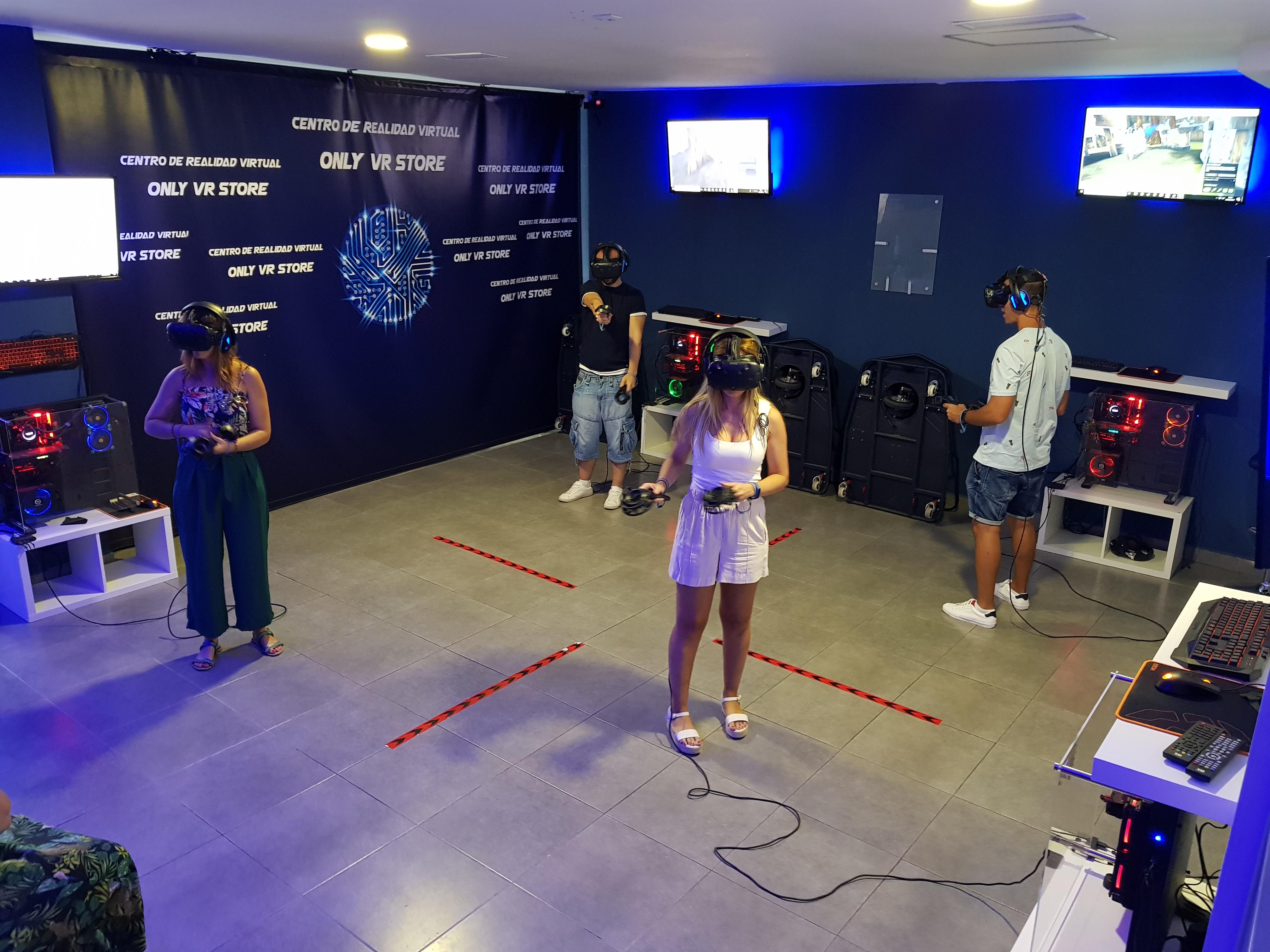 Sala de realidad virtual