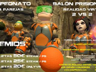 CAMPEONATO BALÓN PRISIONERO VR EN PAREJAS 2 VS 2