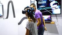 Juego de VR controlado por la mente