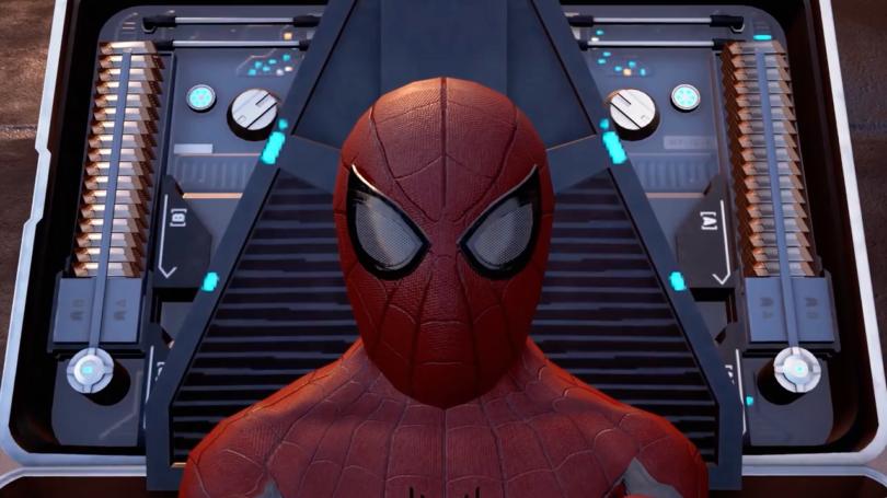 Spiderman en realidad virtual