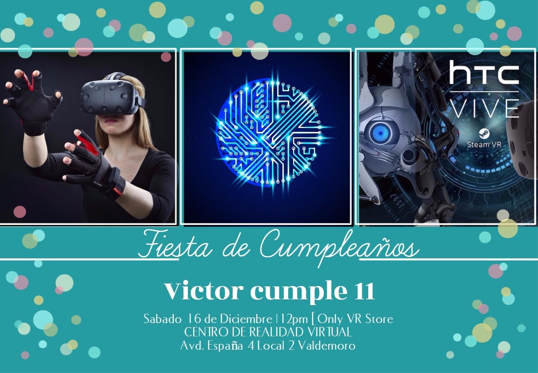 Cumpleaños Realidad Virtual