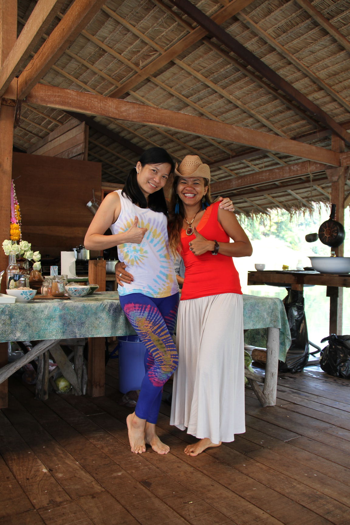 Jacky Catering Yoga Retreat
