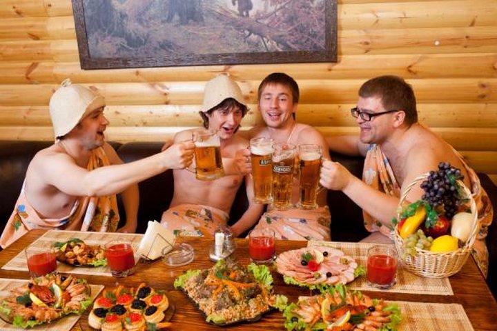 Отметить праздник в бане в Гатчине