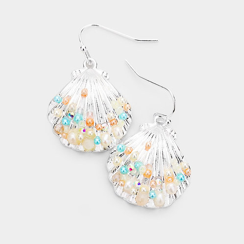 Sandy Seashell Earrings