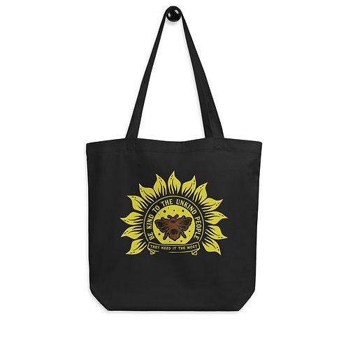 Bee Kind Sunflower Eco Tote Bag