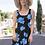 Thumbnail: Bright Blue Floral Skater Dress