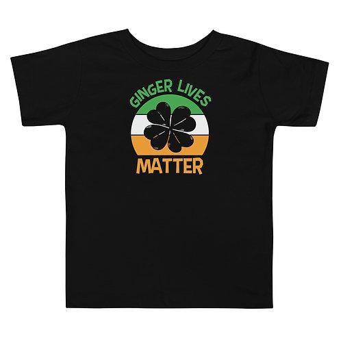Ginger Lives Matter Toddler Short Sleeve Tee