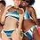 Thumbnail: Blue Striped Reversible Bikini