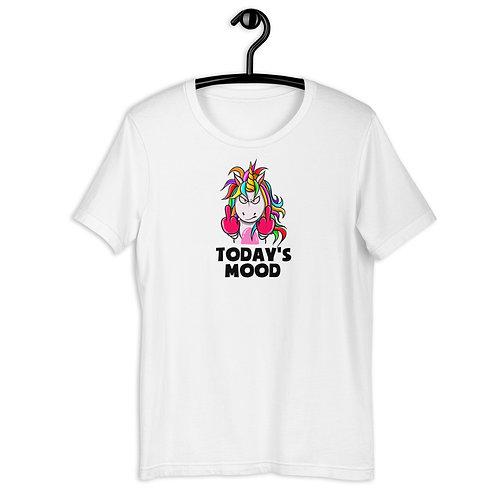 'Today's Mood' Unicorn Short-Sleeve T-Shirt