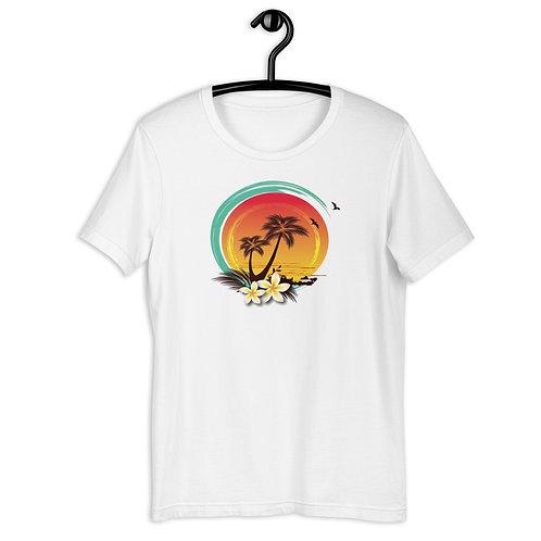 Tropical Sunset Short-Sleeve T-Shirt