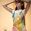 Thumbnail: Abstract Colorful One-Piece Swimsuit