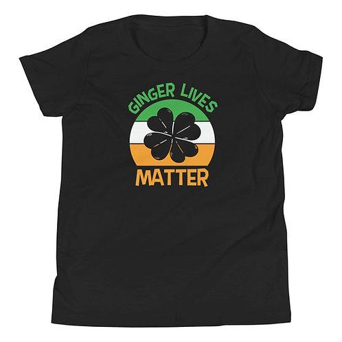 Ginger Lives Matter Youth Short Sleeve T-Shirt