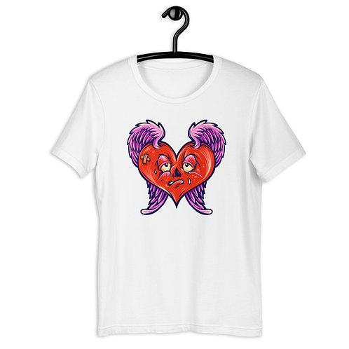 Valentine's Day Broken Heart Short-Sleeve Unisex T-Shirt