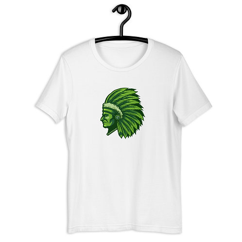 Indian Chief Head Short-Sleeve Unisex T-Shirt