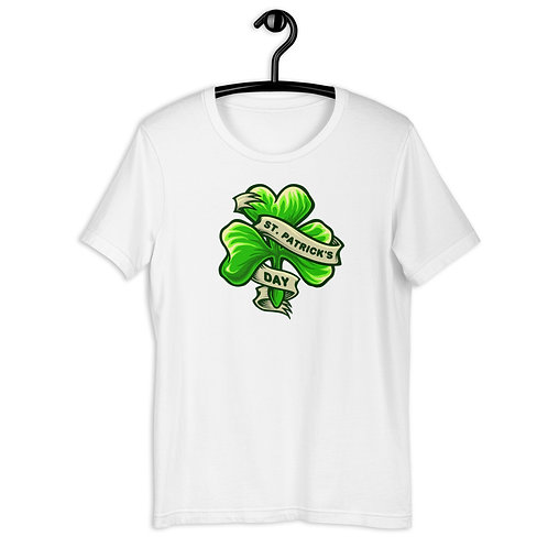St. Patrick's Day Clover Short-Sleeve Unisex T-Shirt