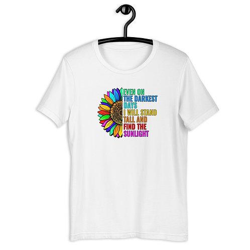 Colorful Sunflower Short-Sleeve T-Shirt