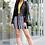 Thumbnail: Nautical Striped Pencil Skirt