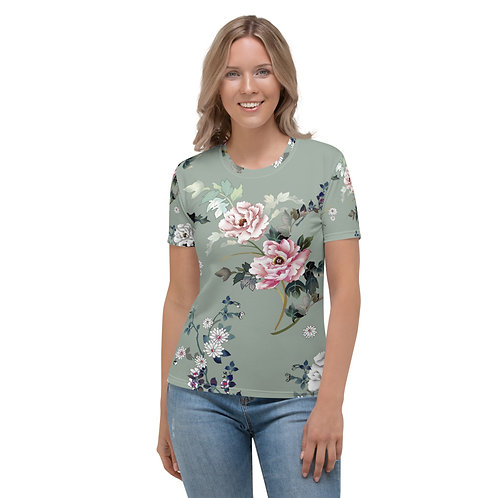 Soft Floral Fitted Shirt