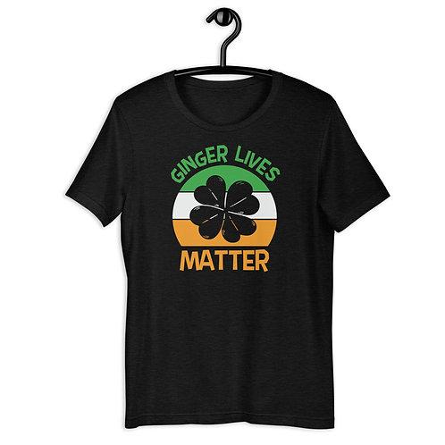 Ginger Lives Matter Short-Sleeve Unisex T-Shirt