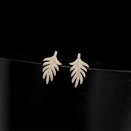 Palm Frawn Earrings
