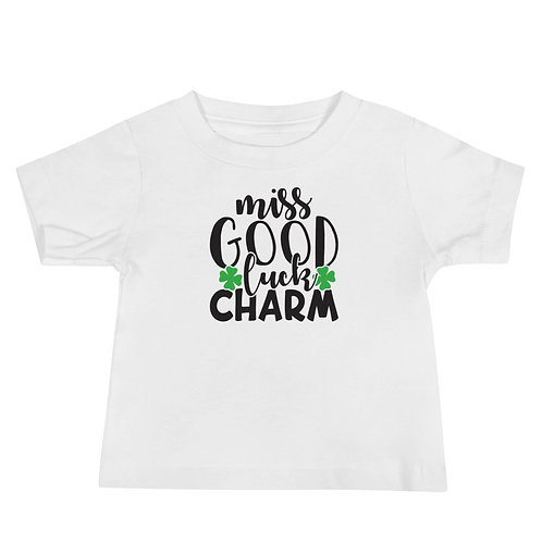 Miss Good Luck Charm Baby Jersey Short Sleeve Tee