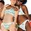Thumbnail: Soft Green Polka Dot Reversible Bikini