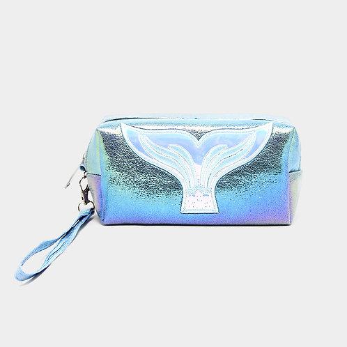 Mermaid Tail Hologram Pouch Bag