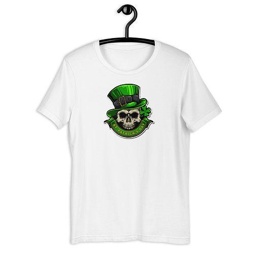 St. Patrick's Day Irish Skull Short-Sleeve Unisex T-Shirt