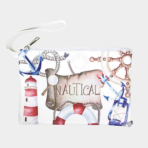 'Nautical' Pouch Bag