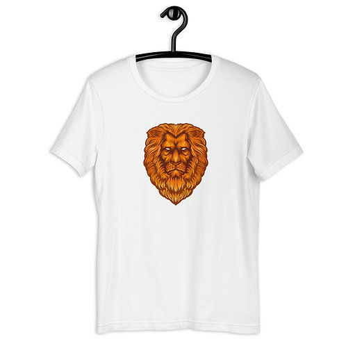 Lion's Head Short-Sleeve Unisex T-Shirt