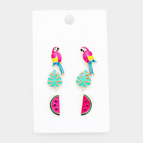 Tropical Set Earrings
