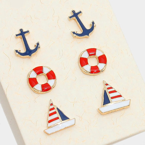 Nautical Set Earrings