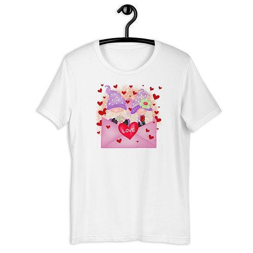 Valentine's Day LOVE Gnomes Short-Sleeve T-Shirt