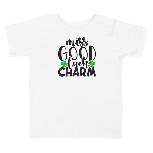 Miss Good Luck Charm Toddler Short Sleeve Tee