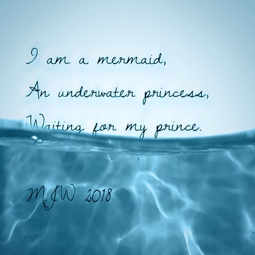 Mermaid haiku