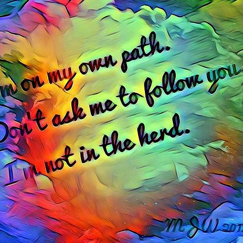 Own Path haiku