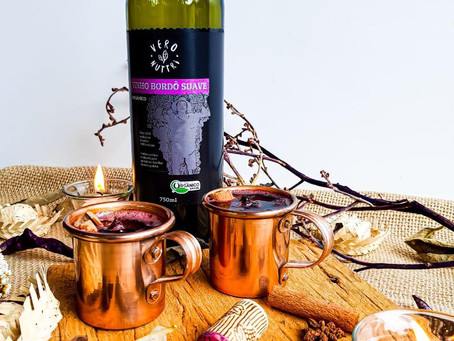 Receita Vinho Quente Orgânico
