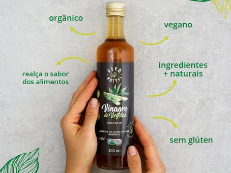 Os benefícios do vinagre de cana de açúcar