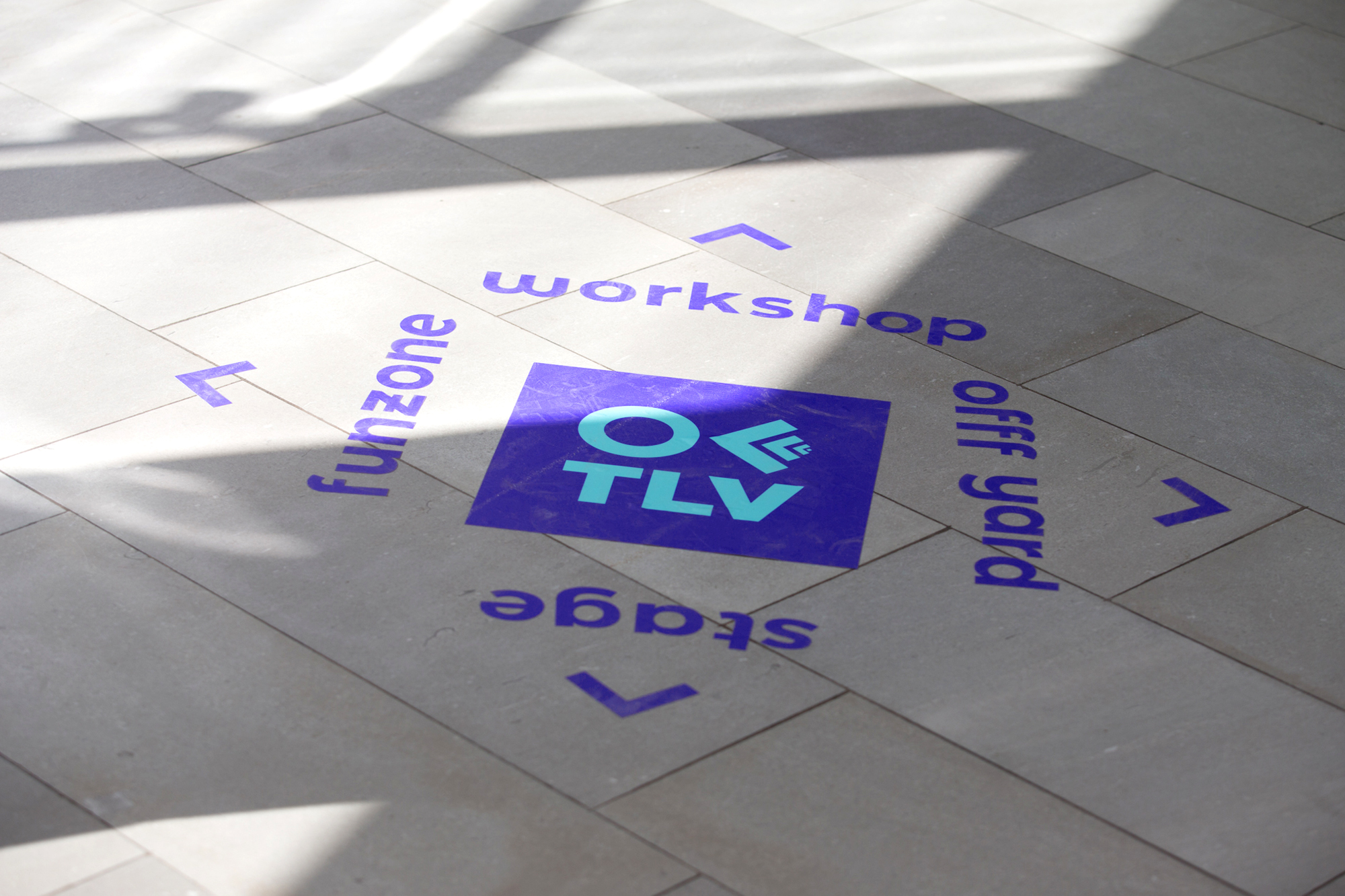 floor sign offftlv