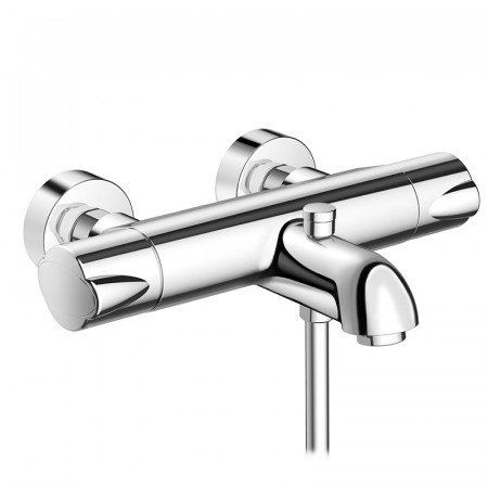 hansgrohe ecomax thermostatic bath and shower mixer and bath filler