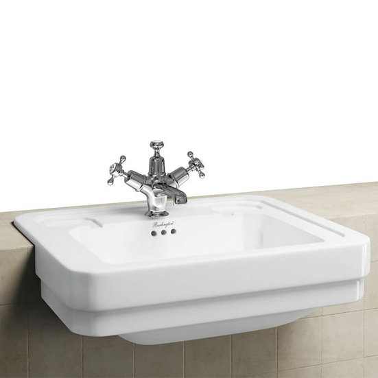 Burlington - Victorian Semi Recessed Basin