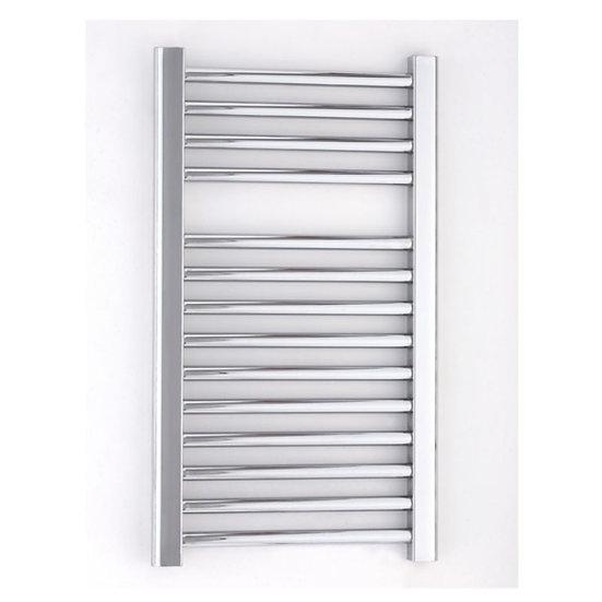 Essential Towel Warmer Straight Chrome 690 X 450 Towel Radiator